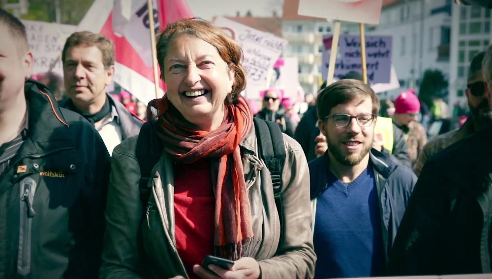 DGB-Video: 1. Mai 2017 in Salzgitter mit Annelie Buntenbach