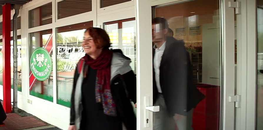 Rententour: Annelie Buntenbach unterwegs im DGB-Bezirk Berlin Brandenburg
