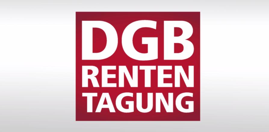 Videodokumentation DGB-Rententagung 20.09.2016